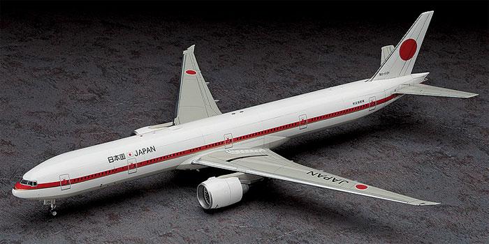 日本政府専用機 ボーイング 777-300ERプラモデル(ハセガワ1/200 飛行機シリーズNo.10810)商品画像_3