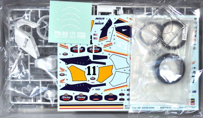 ホンダ NSR500 1989 WGP500 チャンピオンプラモデル(ハセガワ1/12 バイクシリーズNo.BK-004)商品画像_1
