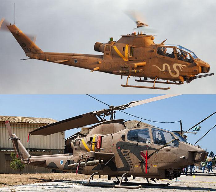 AH-1F コブラ イスラエル空軍プラモデル(ハセガワ1/72 飛行機 限定生産No.02130)商品画像_3