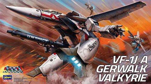VF-1J/A ガウォーク バルキリープラモデル(ハセガワ1/72 マクロスシリーズNo.025)商品画像