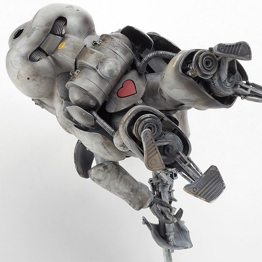 ロボットバトルV 月面用重装甲戦闘服 MK44 H型 ホワイトナイトプラモデル(ハセガワマシーネンクリーガー シリーズNo.64108)商品画像_3