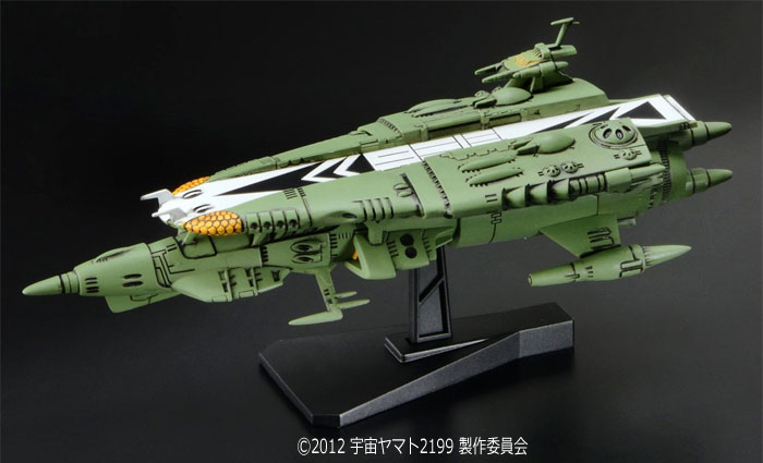 ナスカ級 宇宙中型空母プラモデル(バンダイ宇宙戦艦ヤマト2199 メカコレクションNo.008)商品画像_3