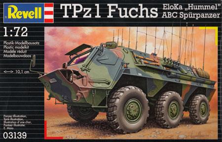 TPz1 フックス Elokaプラモデル(レベル1/72 ミリタリーNo.03139)商品画像
