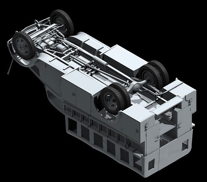 ドイツ オペル 消防車 (2.5-32 KzS8型)プラモデル(ICM1/35 ミリタリービークル・フィギュアNo.35403)商品画像_3