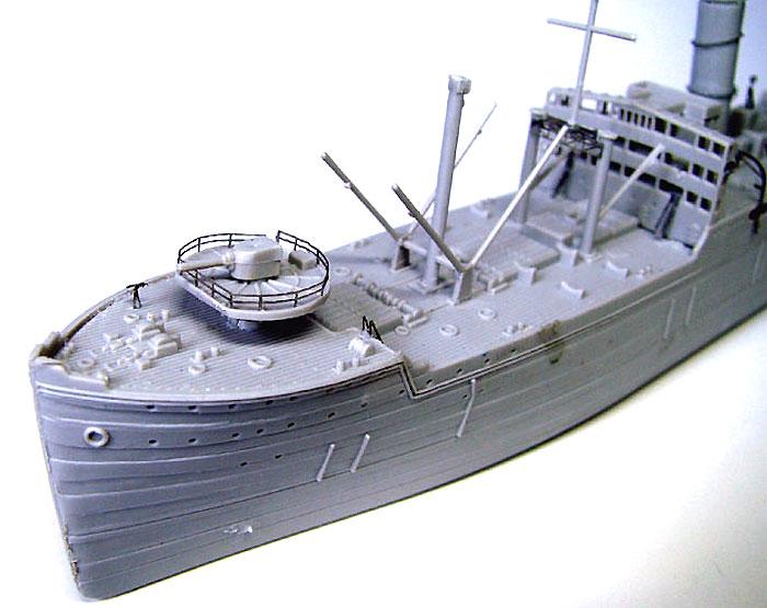日本海軍 給糧艦 間宮用 エッチングパーツエッチング(ピットロード1/700 エッチングパーツシリーズNo.PE-234)商品画像_2