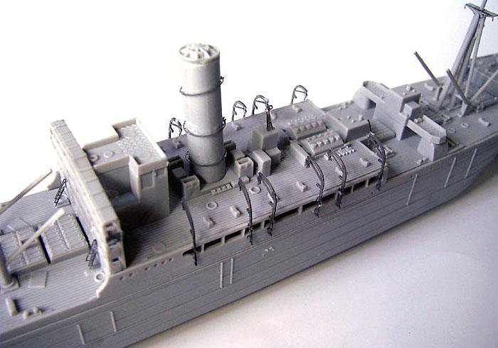 日本海軍 給糧艦 間宮用 エッチングパーツエッチング(ピットロード1/700 エッチングパーツシリーズNo.PE-234)商品画像_3