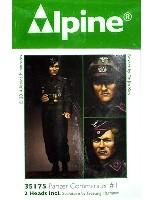 アルパイン1/35 フィギュアWW2 ドイツ 国防軍 戦車指揮官 #1