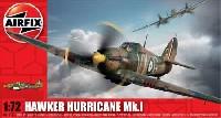 エアフィックス1/72 ミリタリーエアクラフトホーカー ハリケーン Mk.1