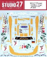 スタジオ27ツーリングカー/GTカー オリジナルデカールランボルギーニ ムルシエラゴ All-Inkl.com #7 2007