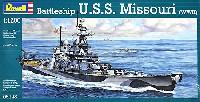 レベル1/1200 艦船キット戦艦 ミズーリ