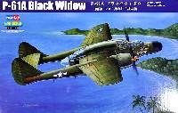 ホビーボス1/48 エアクラフト プラモデルP-61A ブラックウィドウ
