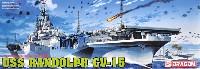 ドラゴン1/700 Modern Sea Power Seriesアメリカ海軍 航空母艦 U.S.S. ランドルフ CV-15
