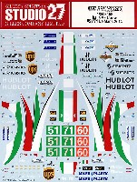 スタジオ27ツーリングカー/GTカー オリジナルデカールフェラーリ 458 AFコルセ #51/71 ルマン 2014
