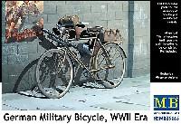 マスターボックス1/35 ミリタリーミニチュアドイツ 軍用自転車