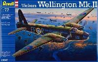 レベル1/72 飛行機ヴィッカース ウェリントン Mk.2