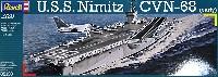 レベル1/720 艦船モデルU.S.S. ニミッツ CVN-68