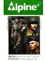 アルパイン1/35 フィギュアWW2 イギリス 王室戦車軍団 戦車兵 #1