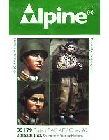 アルパイン1/35 フィギュアWW2 イギリス 王室戦車軍団 戦車兵 #2
