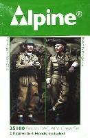 アルパイン1/35 フィギュアWW2 イギリス 王室戦車軍団 戦車兵 (2体セット)