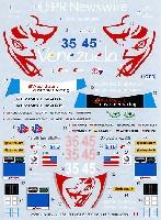 MZデカールミニッツレーサー対応 オリジナルデカールアウディ R8 FLYING LIZARD #35/#45 デイトナ 2014 用 デカール