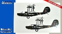 スペシャルホビー1/48 エアクラフト プラモデルスーパーマリン ウォーラス Mk.1 海洋救難型