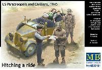 路上検問 (アメリカ 空挺部隊と民間人 1945)