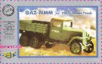 ロシア GAZ-MMM 6輪トラック 1943年型