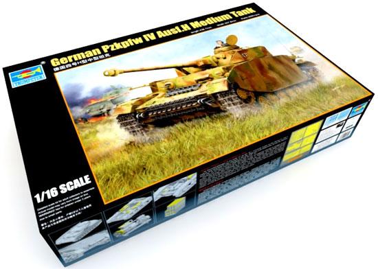 ドイツ 4号戦車 H型プラモデル(トランペッター1/16 AFVシリーズNo.00920)商品画像