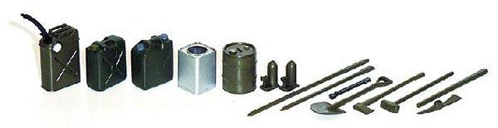 陸上自衛隊装備品セット デカール付プラモデル(アスカモデル1/35 プラスチックモデルキットNo.35-L037)商品画像_2