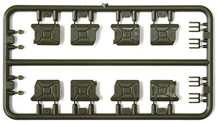 イギリス ジェリカンセットプラモデル(アスカモデル1/35 プラスチックモデルキットNo.35-L039)商品画像_1