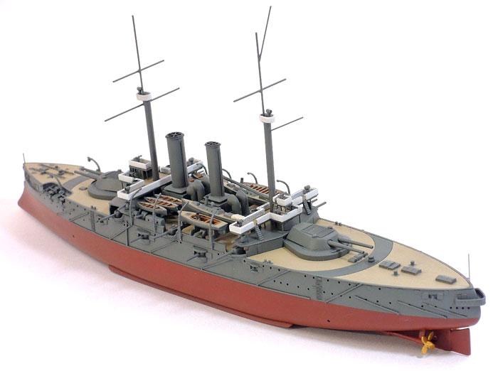 日本海軍 戦艦 富士レジン(シールズモデル1/500 レジンキットNo.MSM001)商品画像_3