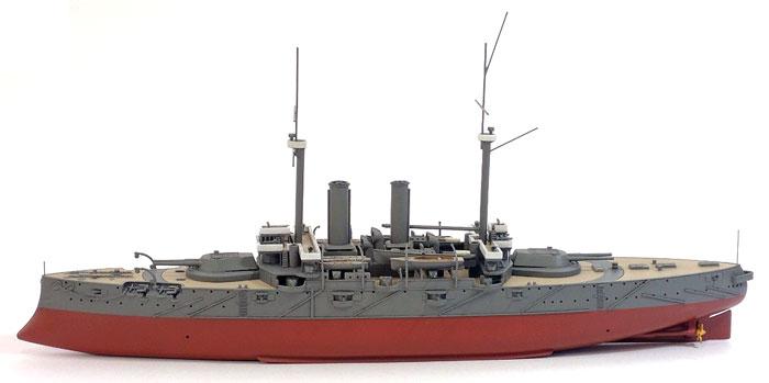 日本海軍 戦艦 富士レジン(シールズモデル1/500 レジンキットNo.MSM001)商品画像_4