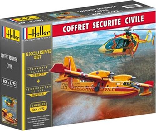 消防飛行艇 & ヘリ スペシャルセットプラモデル(エレール1/72 エアクラフトNo.53009)商品画像