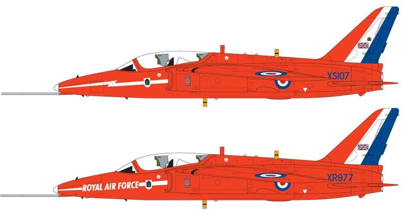レッドアローズ フォーランド ナット T.1プラモデル(エアフィックス1/48 ミリタリーエアクラフトNo.A05124)商品画像_2