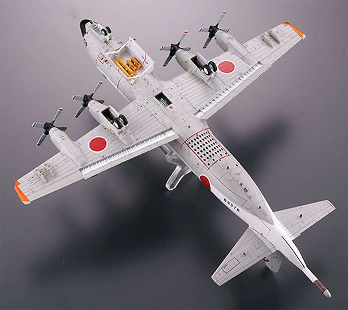 海上自衛隊 P-3C オライオン 第203教育航空隊 (下総基地)プラモデル(トミーテック技MIXNo.AC308)商品画像_2
