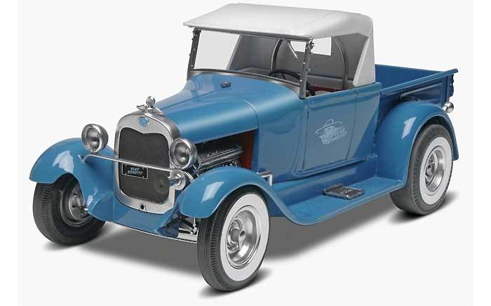 '29 フォード ストリートロッド ブルーバンディットプラモデル(レベル/モノグラムカーモデルNo.85-4020)商品画像_3