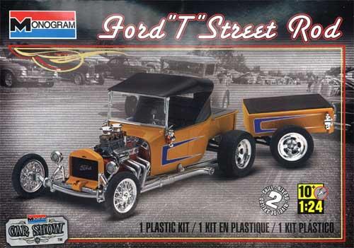 フォード T ストリートロッドプラモデル(レベル/モノグラムカーモデルNo.85-4336)商品画像