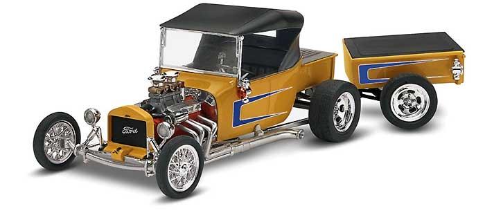 フォード T ストリートロッドプラモデル(レベル/モノグラムカーモデルNo.85-4336)商品画像_3
