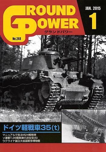 グランドパワー 2015年1月号雑誌(ガリレオ出版月刊 グランドパワーNo.248)商品画像