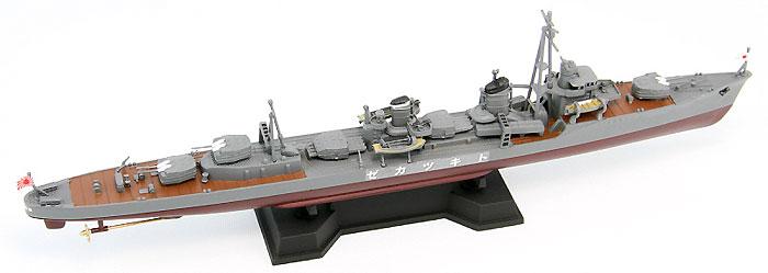 日本海軍 陽炎型駆逐艦 時津風 (新装備付)プラモデル(ピットロード1/700 スカイウェーブ W シリーズNo.SPW033)商品画像_3