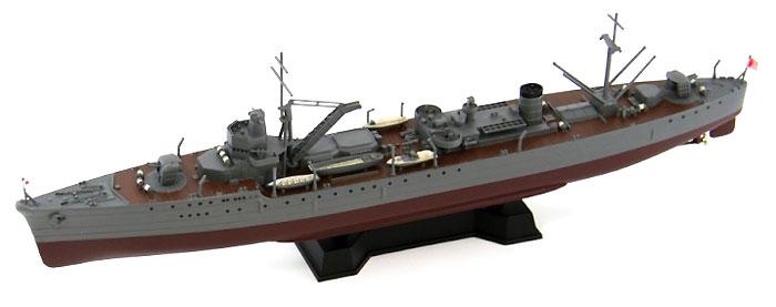 日本海軍 足摺型給油艦 塩屋 (エッチングパーツ付)プラモデル(ピットロード1/700 スカイウェーブ W シリーズNo.W156E)商品画像_3