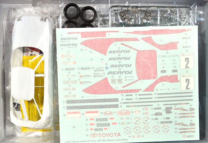 ST165 セリカ GT-FOUR '91 モンテカルロラリー仕様プラモデル(BEEMAX1/24 カーモデルNo.002)商品画像_1