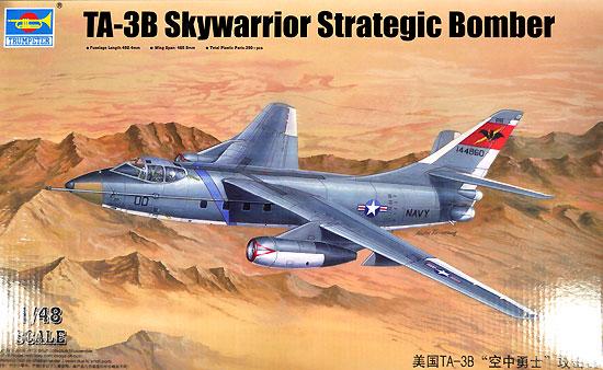 TA-3B スカイウォーリアープラモデル(トランペッター1/48 エアクラフト プラモデルNo.02870)商品画像