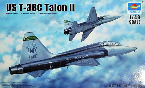 T-38C タロン 2プラモデル(トランペッター1/48 エアクラフト プラモデルNo.02876)商品画像