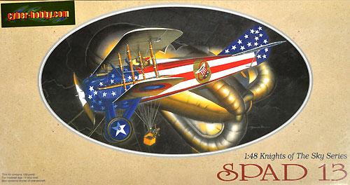 スパッド 13プラモデル(サイバーホビー1/48 ナイト・オブ・ザ・スカイ シリーズNo.5902)商品画像