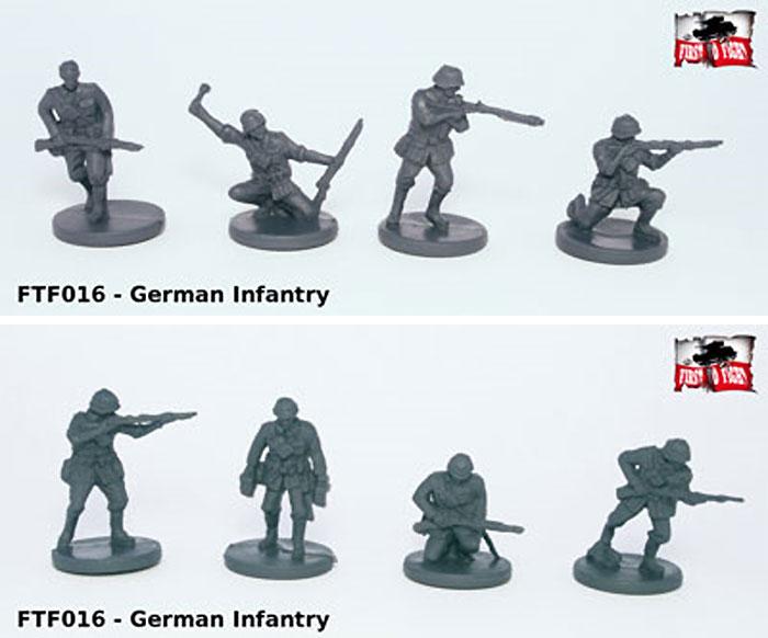 ドイツ ドイツ歩兵プラモデル(FTF1/72 AFVNo.72016)商品画像_2