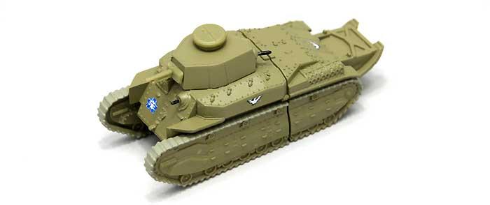 八九式中戦車 甲型 USBメモリ 3 (全国大会時)完成品(ファインモールドガールズ&パンツァー 戦車USBメモリ シリーズNo.95003)商品画像_1