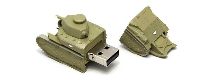 八九式中戦車 甲型 USBメモリ 3 (全国大会時)完成品(ファインモールドガールズ&パンツァー 戦車USBメモリ シリーズNo.95003)商品画像_2