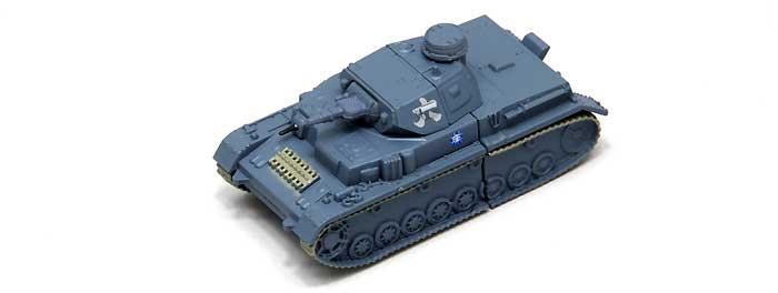 4号戦車 D型 USBメモリ 1 (発見時-練習試合時)完成品(ファインモールドガールズ&パンツァー 戦車USBメモリ シリーズNo.95005)商品画像_1