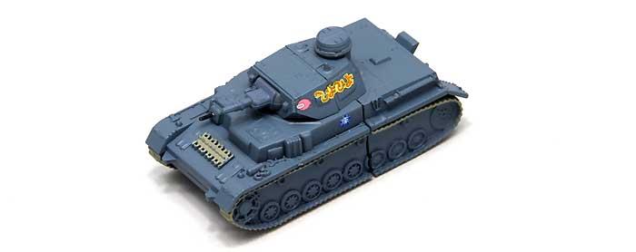 4号戦車 D型 USBメモリ 3 (アンツィオ模擬戦時)完成品(ファインモールドガールズ&パンツァー 戦車USBメモリ シリーズNo.95007)商品画像_1